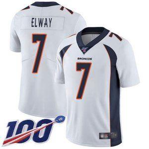 Broncos John Elway 100th Season Jersey 2